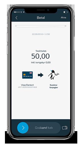 Betal i kantinen med MobilePay